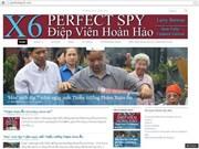 El profesor Larry Berman y X6-Espía perfecto
