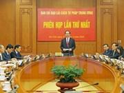 Presidente de Vietnam preside primera sesión del Comité de Reforma Judicial