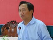Anuncian decisión de expulsar a Trinh Xuan Thanh del Partido Comunista de Vietnam