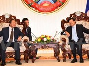 Laos pide apoyo de Vietnam en construcción del gobierno electrónico
