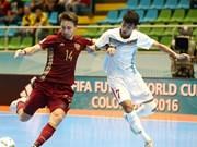 Vietnam se despidió de la Copa Mundial de fútbol sala tras derrota ante Rusia