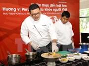 Exponen cultura y gastronomía peruana en Vietnam