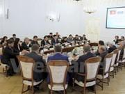 TLC beneficiará nexos de comercio e inversión entre Vietnam y Rusia