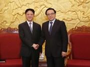Delegación del Partido Comunista de China visita Vietnam