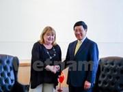 Vicepremier vietnamita cumple amplio programa de encuentros en Nueva York