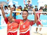 Vietnam obtiene tres oros en el día inicial de Juegos Asiáticos de Playa