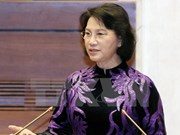 Presidenta de Parlamento de Vietnam inicia visita oficial a Myanmar