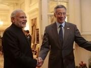 Primer ministro singapurense inicia visita a India