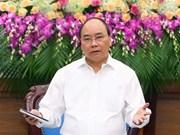 Premier de Vietnam exhorta a lograr crecimiento económico de 6,3 a 6,5 por ciento