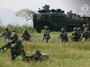 Estados Unidos y Filipinas realizan ejercicio PHIBLEX 33
