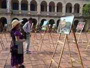 Exhiben impresionantes fotos sobre las fuerzas armadas de Hanoi