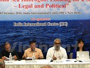 Eruditos analizan en India situación compleja en el Mar del Este