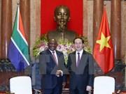 Vietnam busca desarrollar todo tipo de cooperación con Sudáfrica, dijo presidente