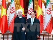 Vietnam concede alta importancia al fomento de cooperación con Irán