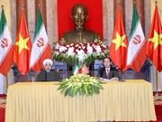 Concluye presidente de Irán visita estatal a Vietnam