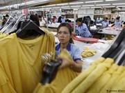 Camboya aumentará salario mínimo para empleados de industria textil y de calzado