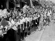 Los cambios de Hanoi 62 años después del Día de Liberación