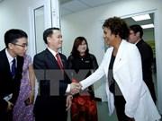 Secretaria general de OIF visita periódico Le Courrier du Vietnam