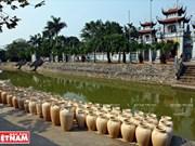 Avance de la producción de cerámica en Kim Lan
