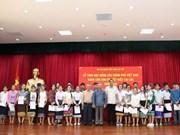 Conceden becas del Gobierno vietnamita a estudiantes expatriados en Laos