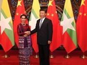 Myanmar y China intensifican cooperación bilateral