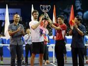 Clausuran Torneo Abierto Internacional de Tenis de Vietnam 2016