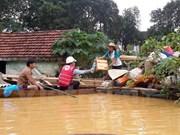 Provincias vietnamitas afectadas por inundaciones reciben asistencia