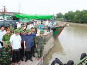 Vicepremier inspecciona labores preventivas para enfrentar tifón Sarika en Hai Phong