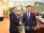 Vietnam atesora las relaciones con China, asevera dirigente partidista