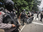 Un supuesto simpatizante de EI ataca policías de Indonesia