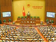 Comenzó en Vietnam segundo período de sesiones del Parlamento