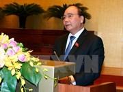 Premier de Vietnam presenta informe socioeconómico ante Parlamento