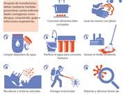 [Infografía]Medidas para prevenir enfermedades después de inundaciones
