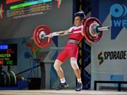 Vietnam gana dos de oro en campeonato de levantamiento de pesas