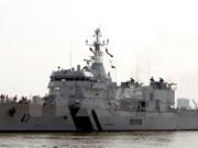 Buque de guardia costera de India visita ciudad vietnamita de Da Nang
