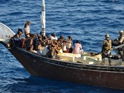 Liberados vietnamitas secuestrados por piratas somalíes