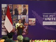 Conmemoran en Indonesia fundación de la ONU
