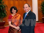 Primer ministro de Vietnam recibe a saliente coordinadora residente de ONU