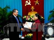 Líderes de Ciudad Ho Chi Minh recibe a delegación de Prensa Latina