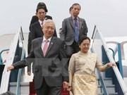 Presidente de Myanmar inicia visita estatal a Vietnam