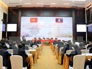 Vietnam y Laos acuerdan intercambiar experiencias sobre movilización de masas