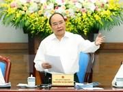 Gobierno de Vietnam traza tareas urgentes para lograr meta de crecimiento