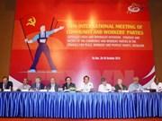 Clausuran XVIII Encuentro Internacional de Partidos Comunistas y Obreros