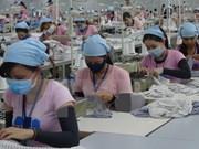 Leve aumento de índice de producción industrial de Vietnam
