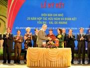 Fortalecen nexos interlocales Vietnam-Francia