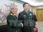 Vietnam y China por fortalecer cooperación en defensa