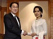 Japón apoya los esfuerzos para poner fin a conflicto étnico en Myanmar