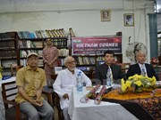 Presentan en India libros en inglés sobre Vietnam