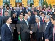 Presidente de Vietnam destaca aportes de intelectuales