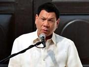 Presidente de Filipinas cancela la compra de rifles de Estados Unidos